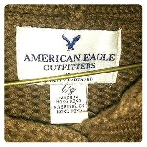 American eagle carni gan button up